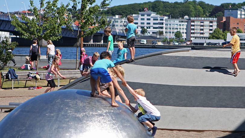 Aalborg-Hamnfront-lekplats