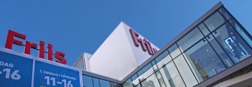 Shopping i Aalborg, Friis kjøpesenter.