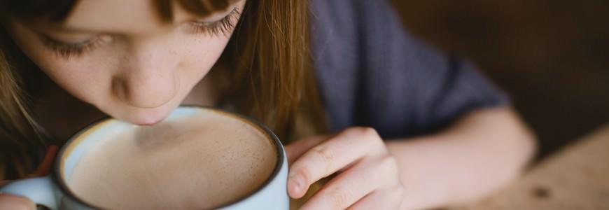 """Kakao med """"flødeskum"""""""