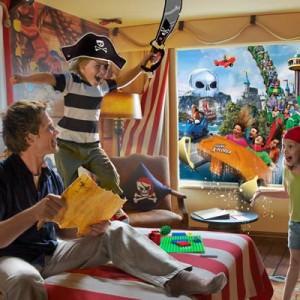 Bo som en pirat på Hotel LEGOLAND®