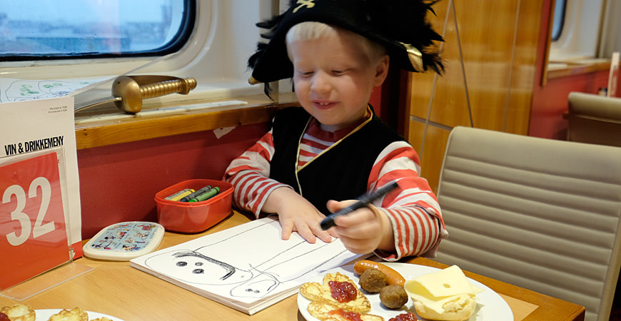 Storm Herman Pirat ved piratfrokosten
