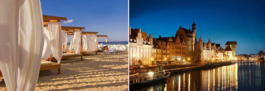 Gdansk. Havneby og badeperle