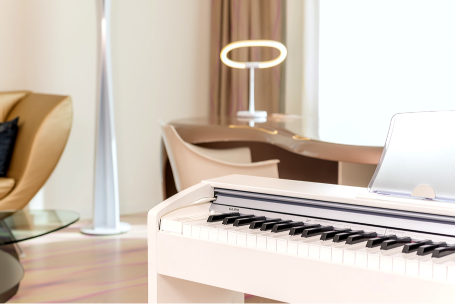 Hvitt piano