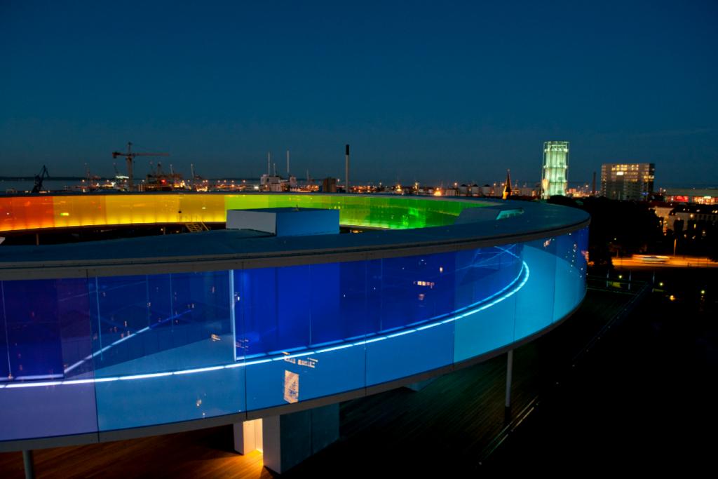 ARoS Nordeuropas spydspiss innen interaktive museer og opplevelsessentere.