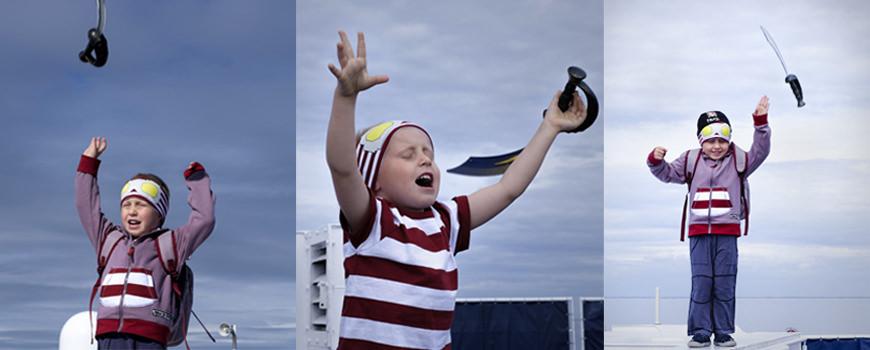 Piratklær barnas båt
